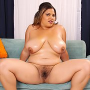 Chubby Latina On Display