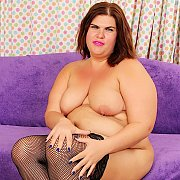 Chubby Milf Gets Naked