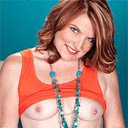 Pale Red Hair Milf Strips