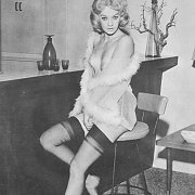 Vintage Woman In Her Stockings