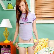 Non Nude Just Legal Red Head Teen