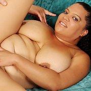 Latina Plumper Lady Spice Pussy Pounded