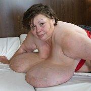 Carla Flirting Giant Boobs BBW
