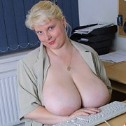 June Kelly Busty Blonde Secretary