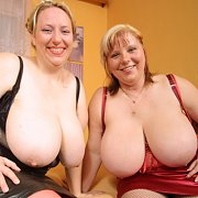 June and Karen Busty Blonde BBWs