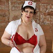 Old BBW Nurse