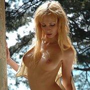 Blonde Model Nude