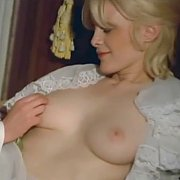Classic Actress Has Breasts Played With By The Maid