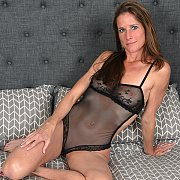 Sofie Marie In Lacy Lingerie