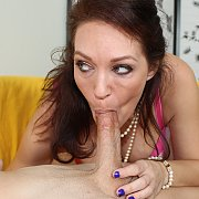 MILF Charlee Chase Craves For Dick, Sucks Sons BF