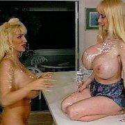 Big Tits Classic Blonde Lesbians