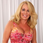 Blonde Granny Crystal Taylor