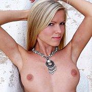 Blonde And Beautiful Centerfold Marketa