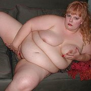 Fat Nude Woman On The Couch