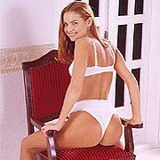 Redhead teens in white panties