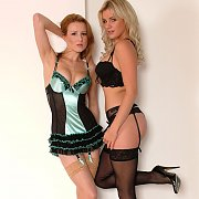 Lusty lingerie and stockings
