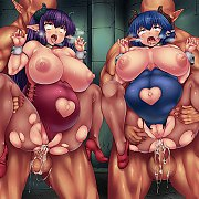 Space Monster Titty Fucks A Redhead