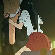 Short Blonde Haired 3D Model On The Veranda
