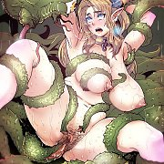 Winged 3D Model In Thigh Boots