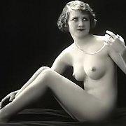 Vintage Nude In An Erotic Studio Photo