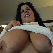 Carol Braless Busty Milf