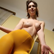 Yellow Tights Removed