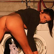 Laundry time beauty