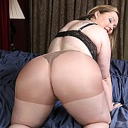 American BBW Getting Kinky