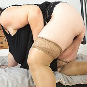 Big Breasted Mature BBW Playing