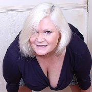 British Mature BBW Playing Alone