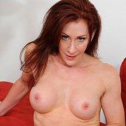Redhead Mature Hottie Fingers