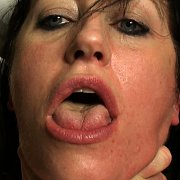 Hard Face-Slapping Makes Her Cum