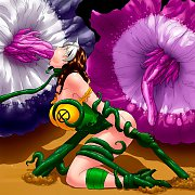 3D Leather Mistress With Her Two Slaves