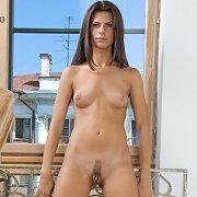 Luscious Sofcore Brunette Nude
