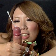 Crazy Nails Asian Handjob