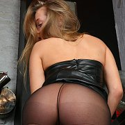 Firm Coed Ass In Nylons