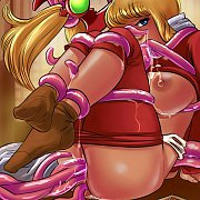 Topless Chesty 3D Animated Hottie
