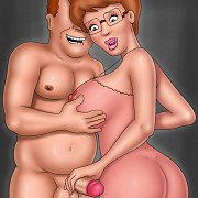 Rendered Gothic Blonde Beauty