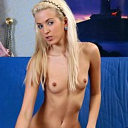 Tiny Titties Skinny Blonde Teen