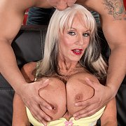 Wicked Fake Knockers Granny Fucked