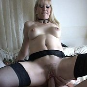 Mature In Stockings Drilled