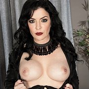 Raven Haired Mature Lady