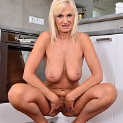 Tall Busty Blonde Mature