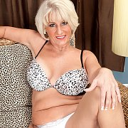 Mature Lady Strips Down