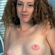 Natural Redhead Teen With Freckles