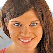 Sporty Blue Eyes Brunette
