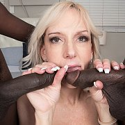 Southern Milf Bangs Two Black Guys