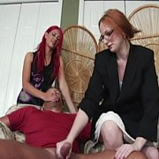 Therapist Teaches Wife How To Jerk
