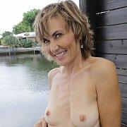 Lillian Tesh showing her boobs