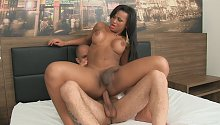 1:41 She-Male Creampies